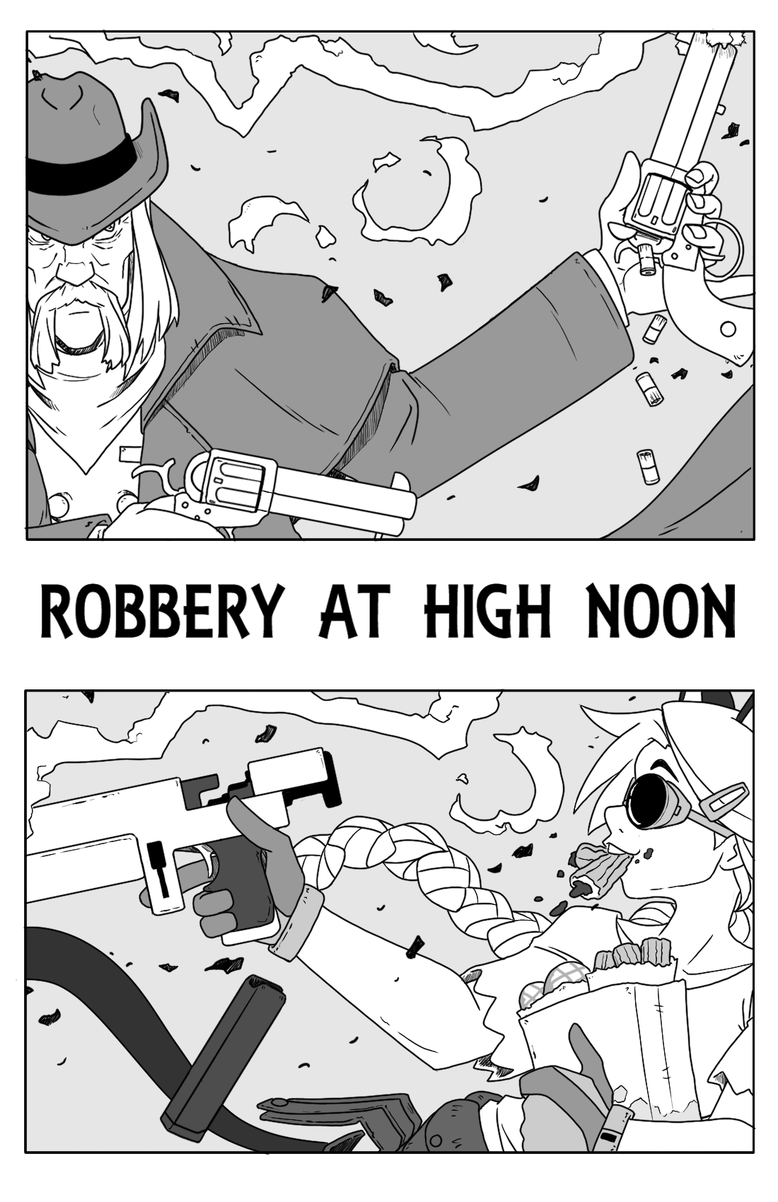 Robbery At High Noon title pg.