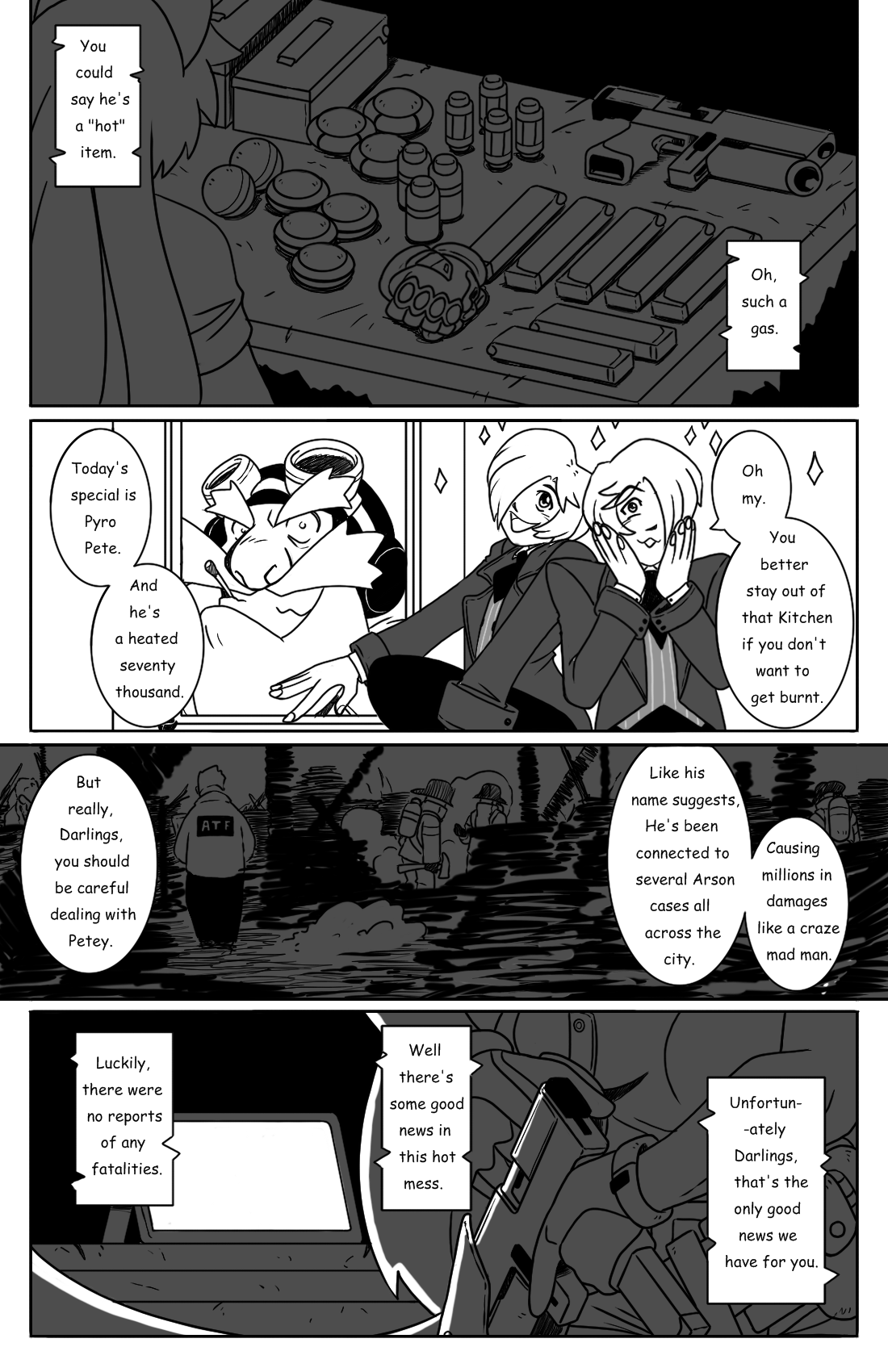 Early Morning Outing pg.3